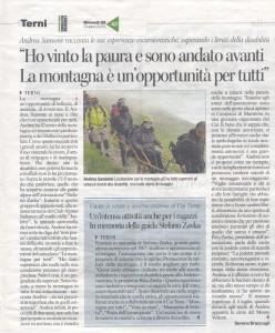 2015.06.25_Corriere dell'umbria_art. su Andrea Sansoni